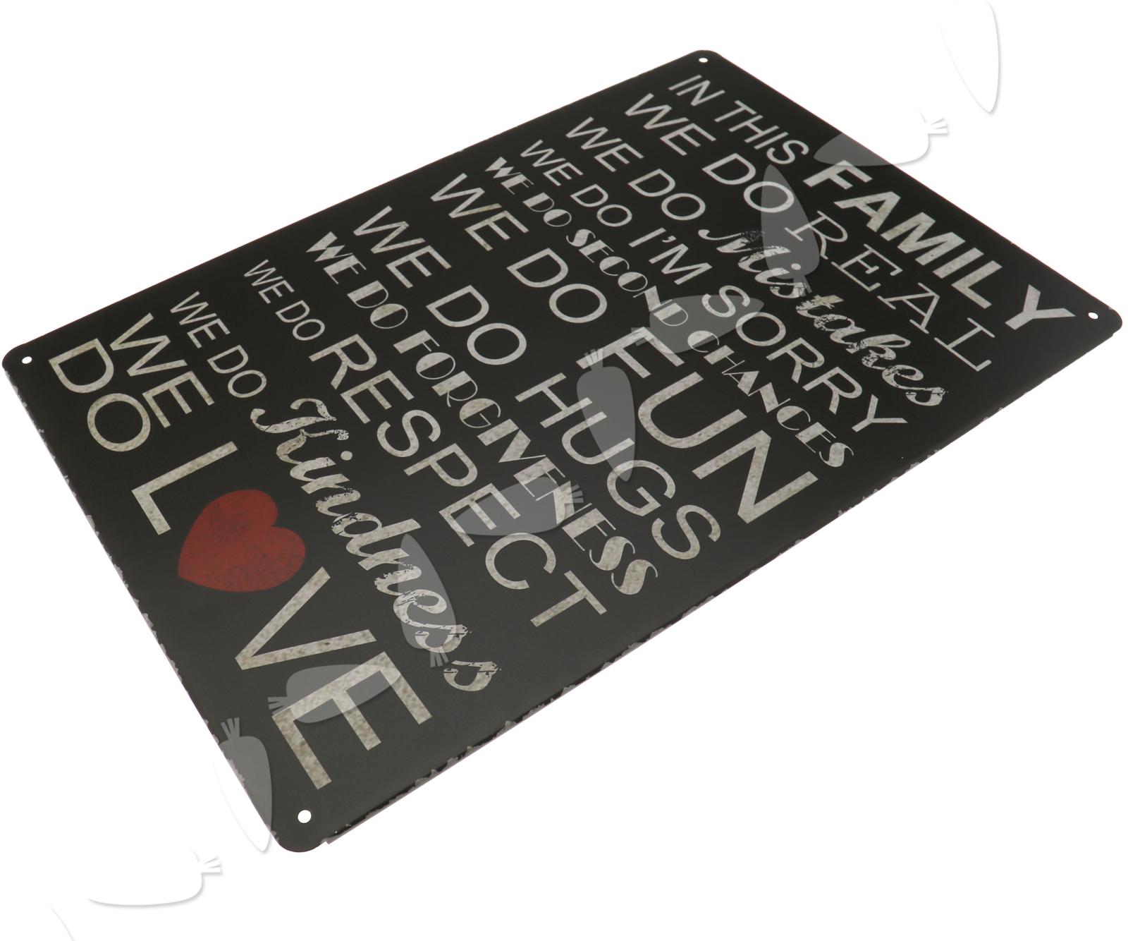 Retro Metal Tin Slogan Sign Plaque Poster Home Club Caffe Pub Wall ...