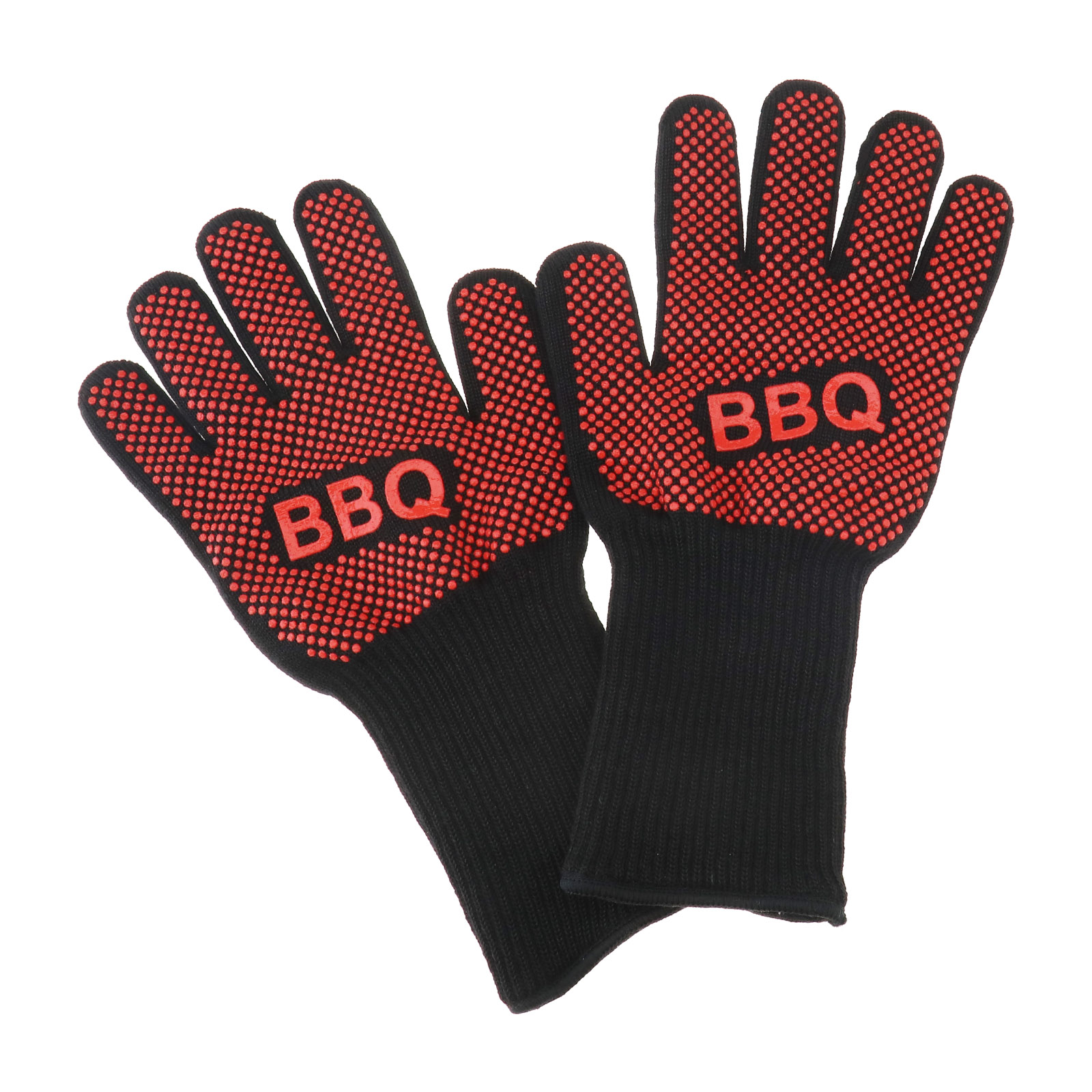 Gloves Heat Resistant Silicone Gloves Kitchen BBQ Oven Cooking Mitts Silicone