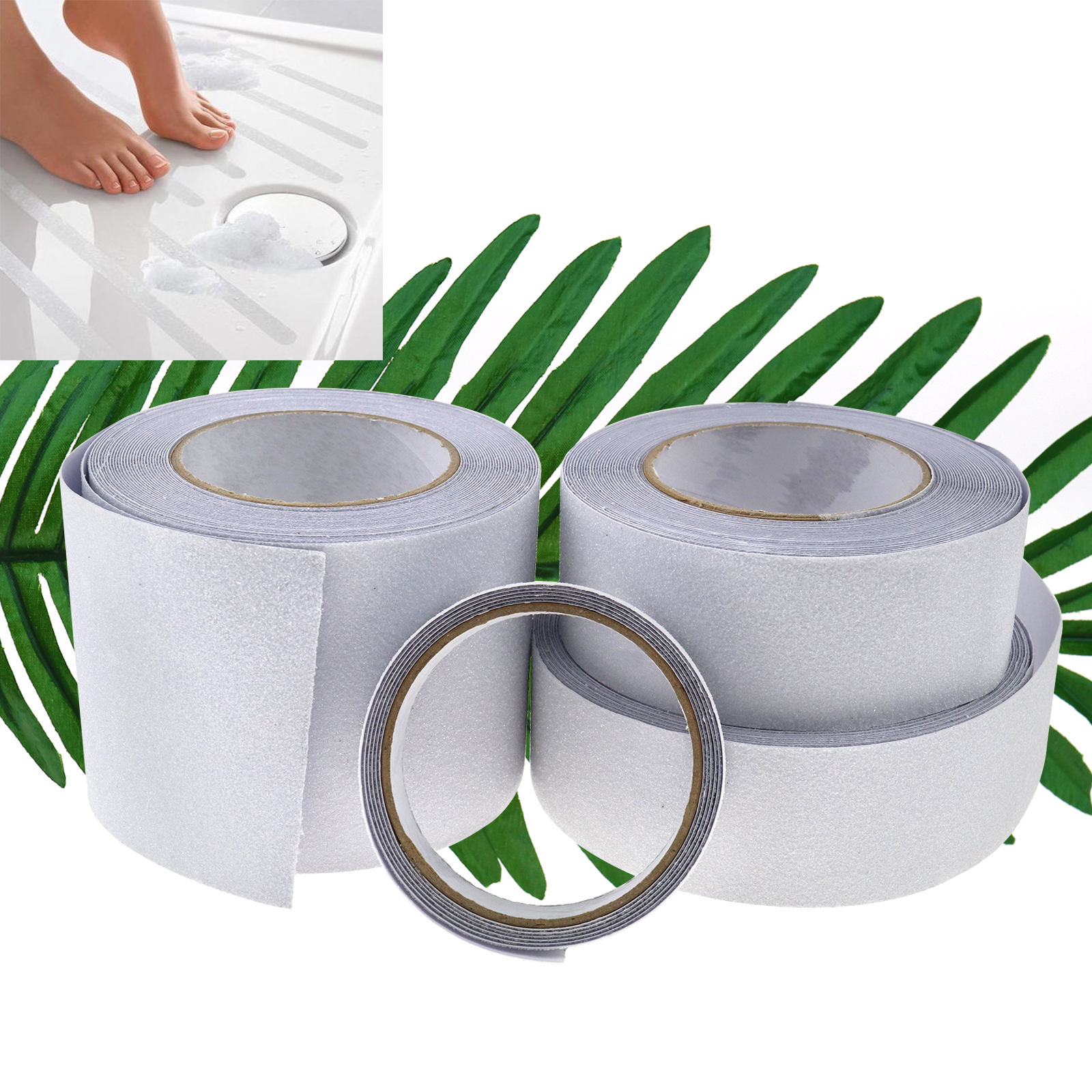 1m Transparent Non-Skid Safety Tape Grit Tape for Bathroom ...