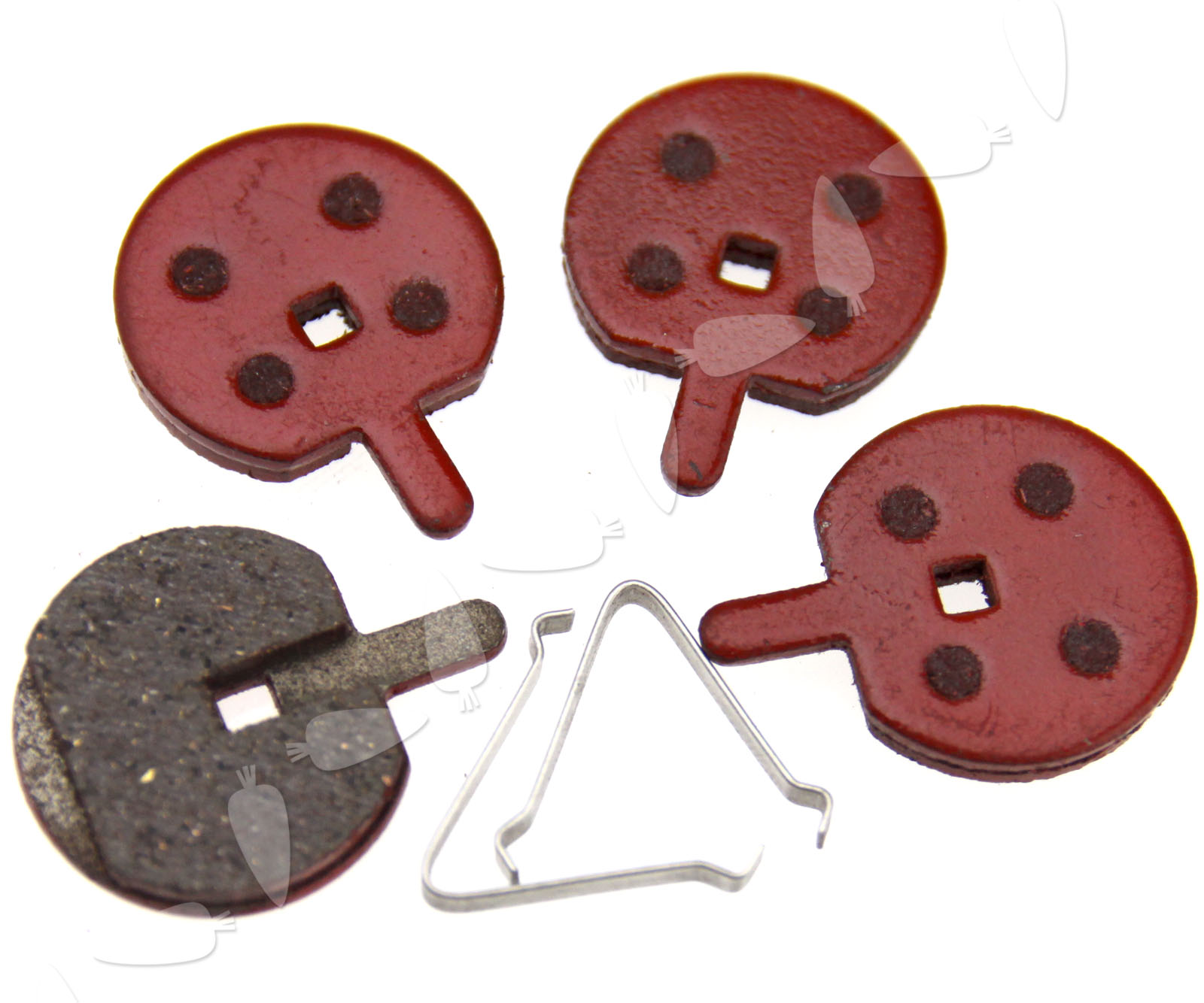 2 Pairs Durable Bike Bicycle Cycling MTB Resin Disc Brake Pads for JAK ZOOM