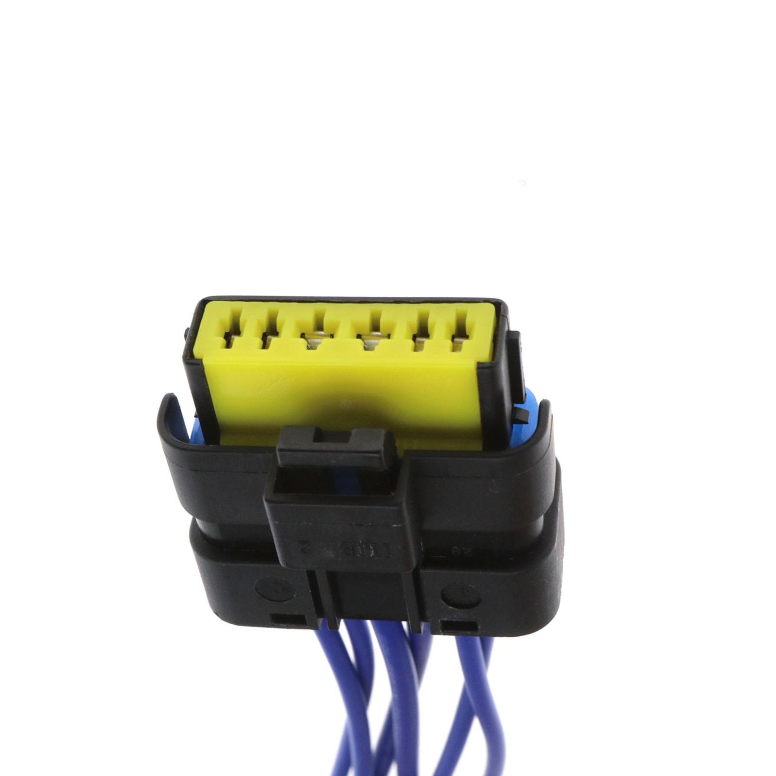 6 Pin Temic Window Module Motor Wiring Harness Connector