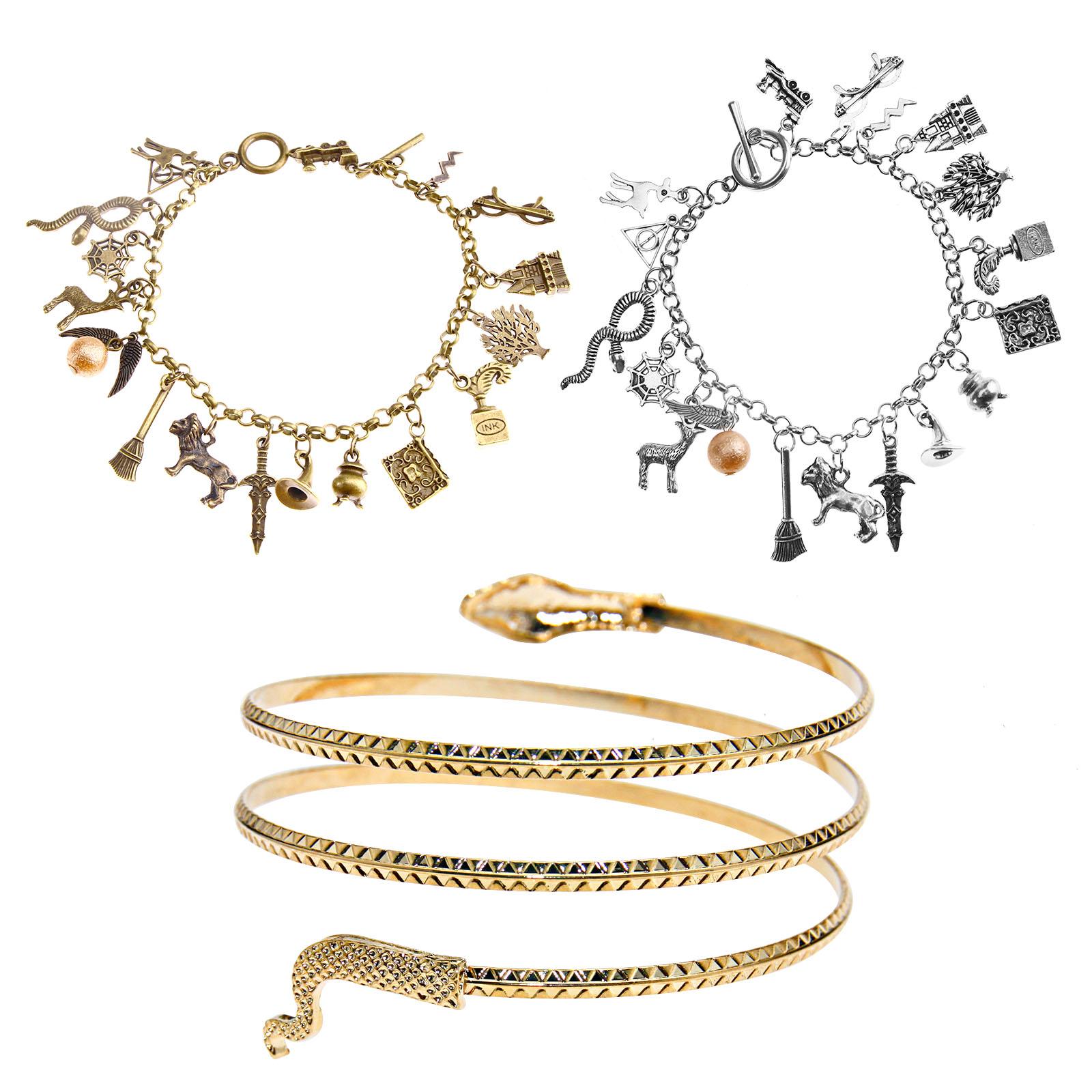 Gold/Silber Armreif Bracelet Schmuck Geschenk Oberarmreif Armband ...