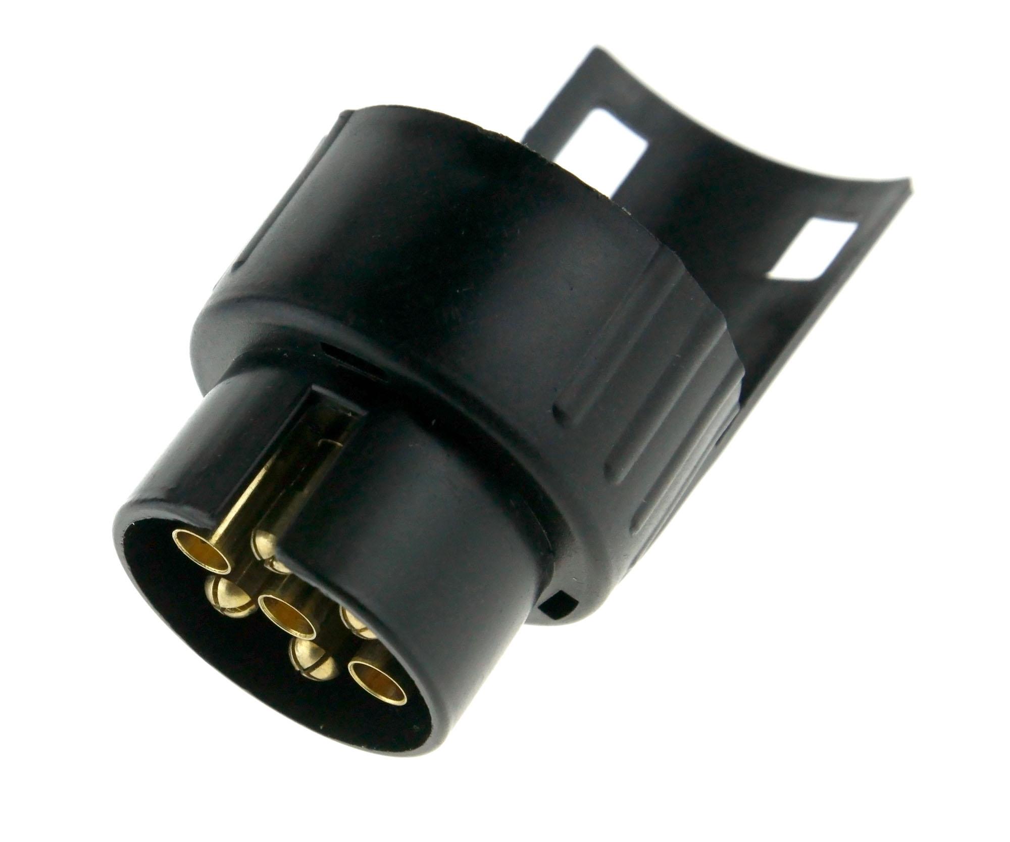12V 7pin to 13pin Elektrischer Konverter Stecker Adapter LKW ...