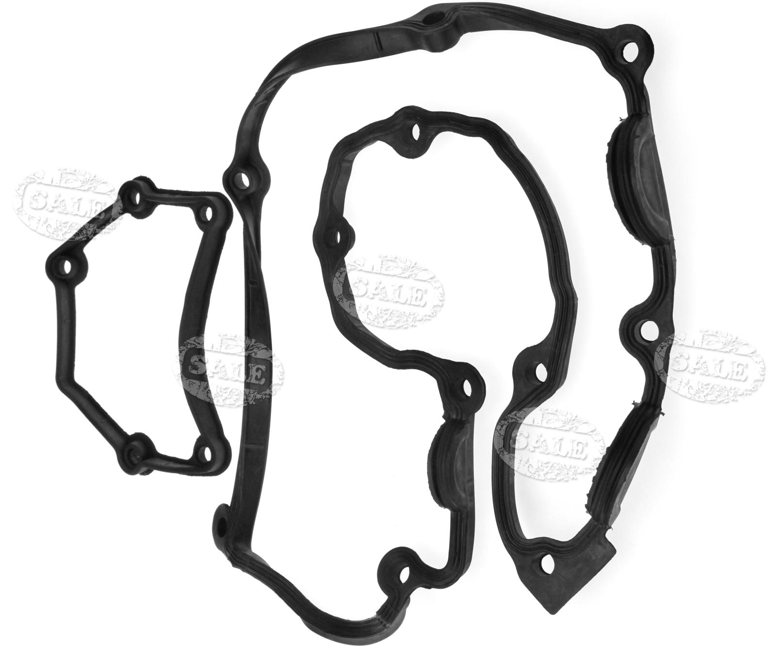 Cylinder Head Valve Rocker Cam Cover Gasket For Bmw 323i: Black Cylinder Head Cover Gasket For BMW (E46)316i OEM
