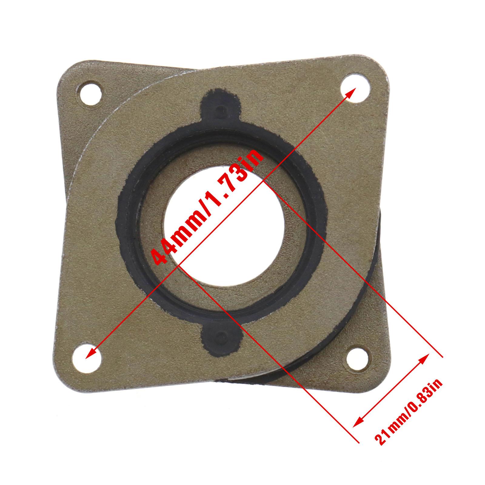 DIY Steel Rubber Shock Absorber Stepper Vibration Damper For Nema17 3D/'Prin TO