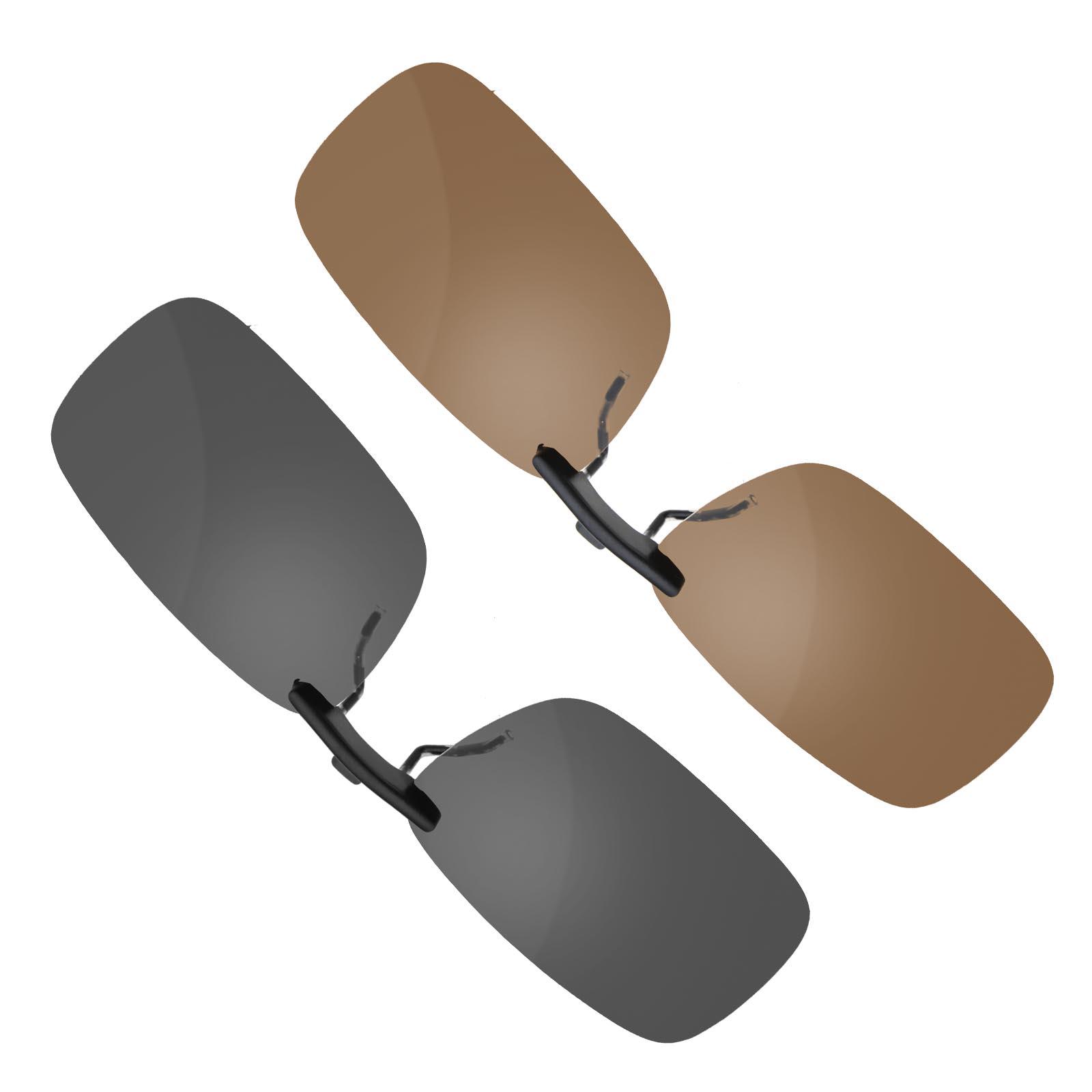 Pro. Sonnenbrillenvorhänger Clip On Sonnenbrille Klappsonnenbrille ...