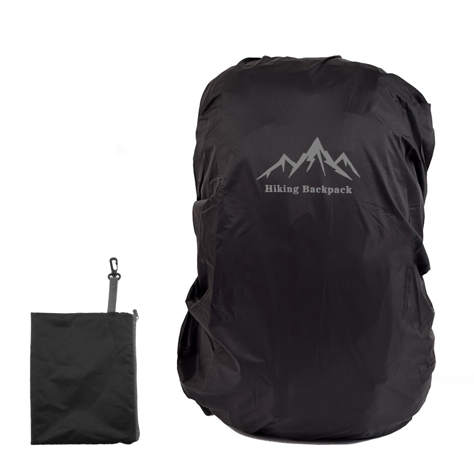 rucksack regenhülle schwarz