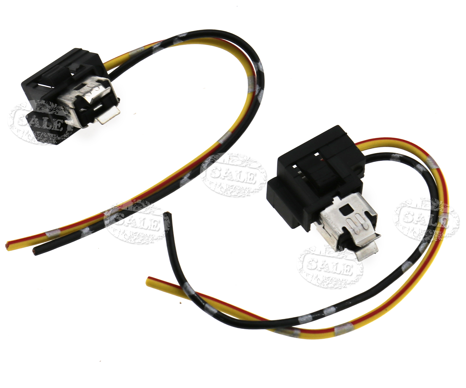 Miraculous 2 X H1 Head Fog Lamp Light Bulb Socket Holder Wiring Connector Plug Wiring 101 Taclepimsautoservicenl