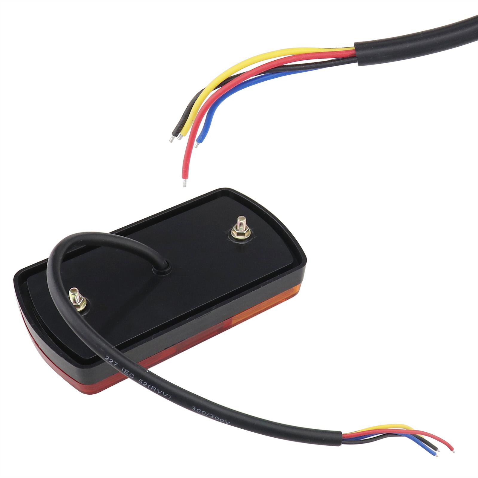 2tlg LED Rücklicht Rückleuchten Heckleuchte Anhängerlicht ...