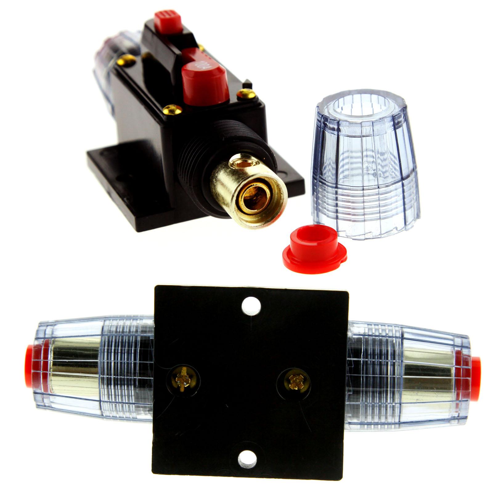 Car Audio Circuit Breaker 40 60 100a Amp Amplifier Agu Style Fuse Box Wet Picture 2 Of