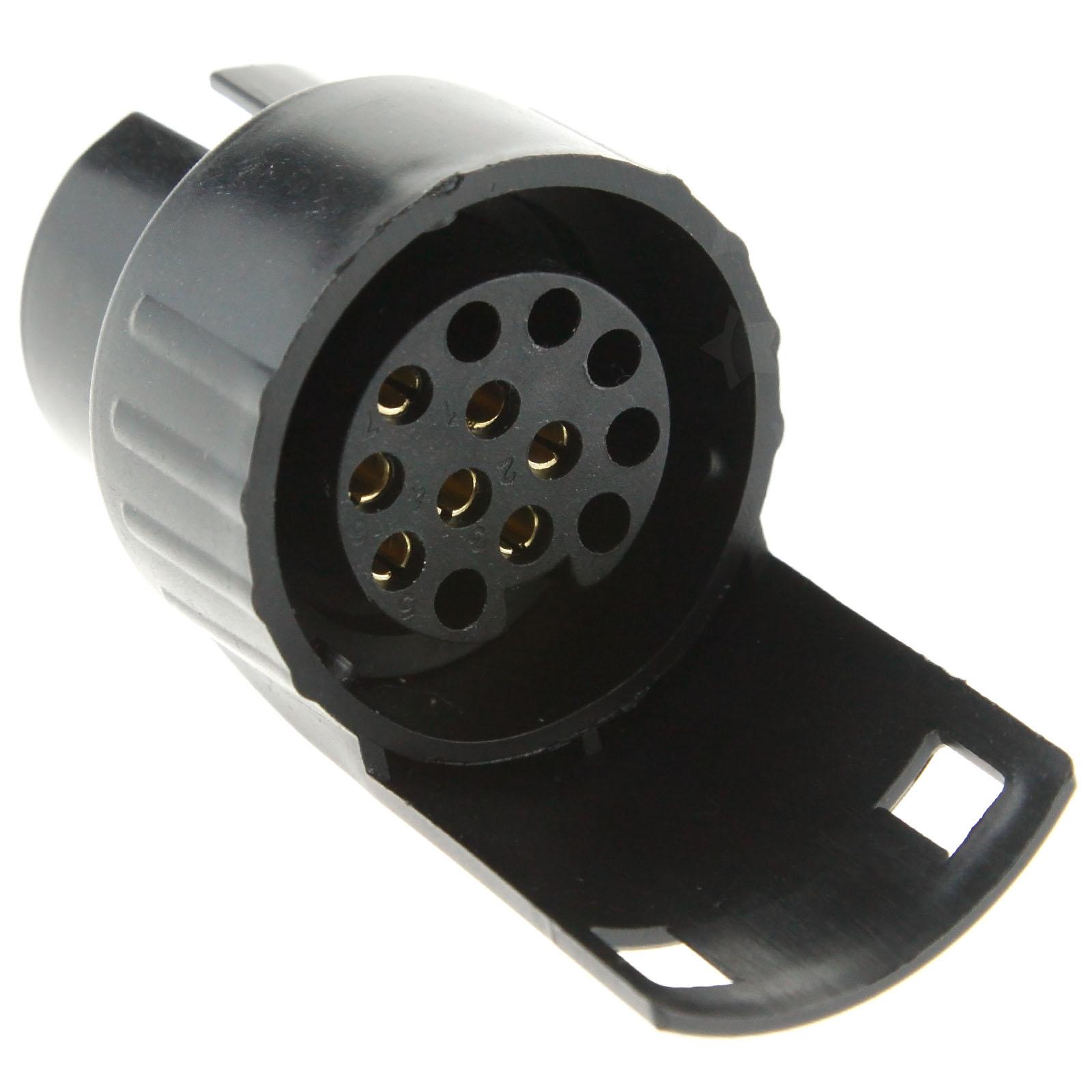 7 pin to 13 pin towbar converter adapter plug towing for car, Wiring diagram