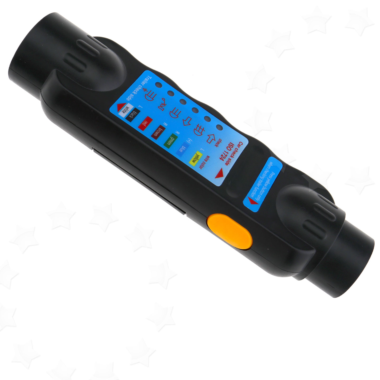 7 Pin Dc 9v Car Vehicle Trailer Towing Light Cable Circuit Plug Wiring A Socket The Tester Is Designed To Indicate Failure In On Your Caravan Or Horsebox With Six Led System