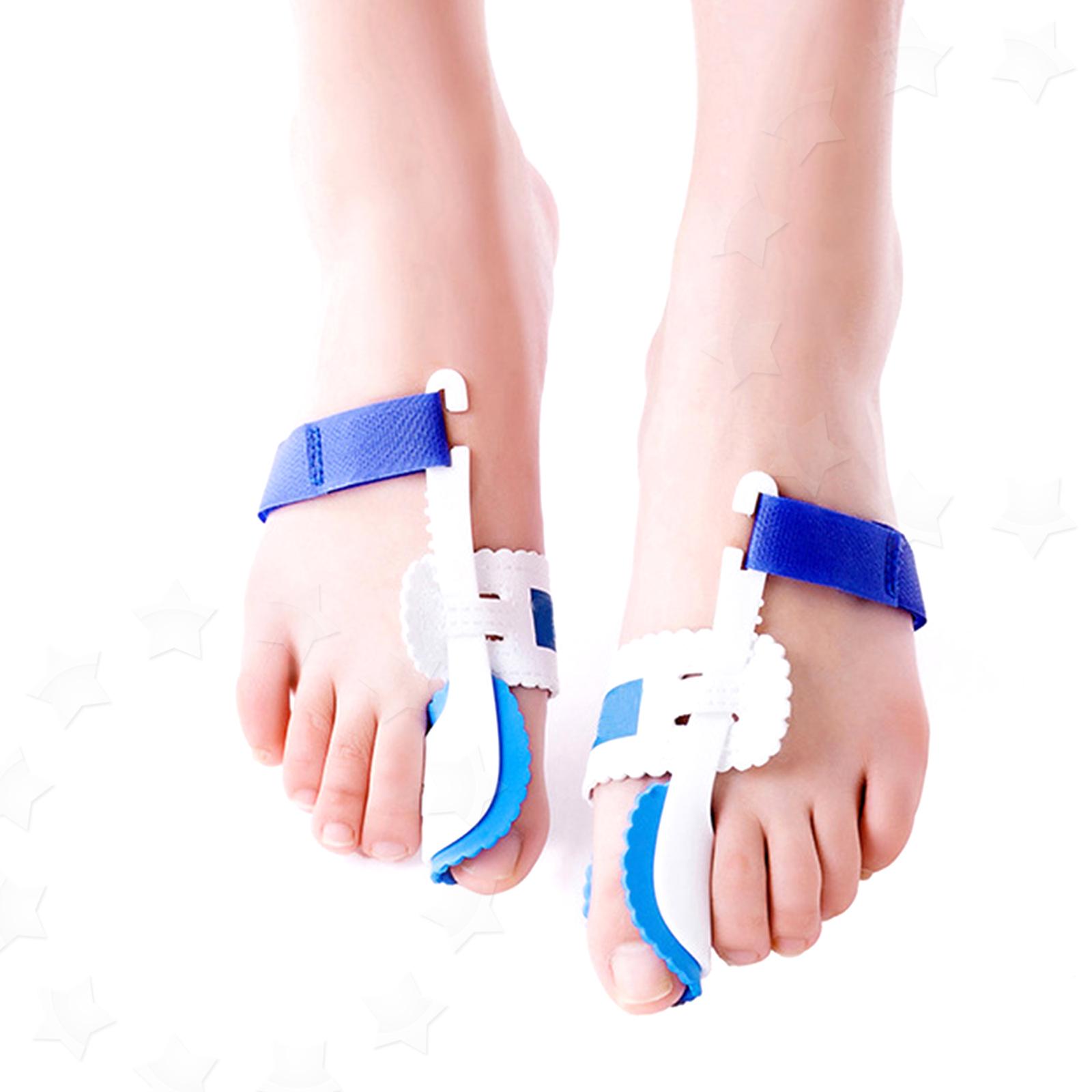 Big Toe Bunion Splint Pads Hallux Valgus Straightener Corrector Correction 1pair Silicone Foot Fingers Separator Thumb Protect 2x