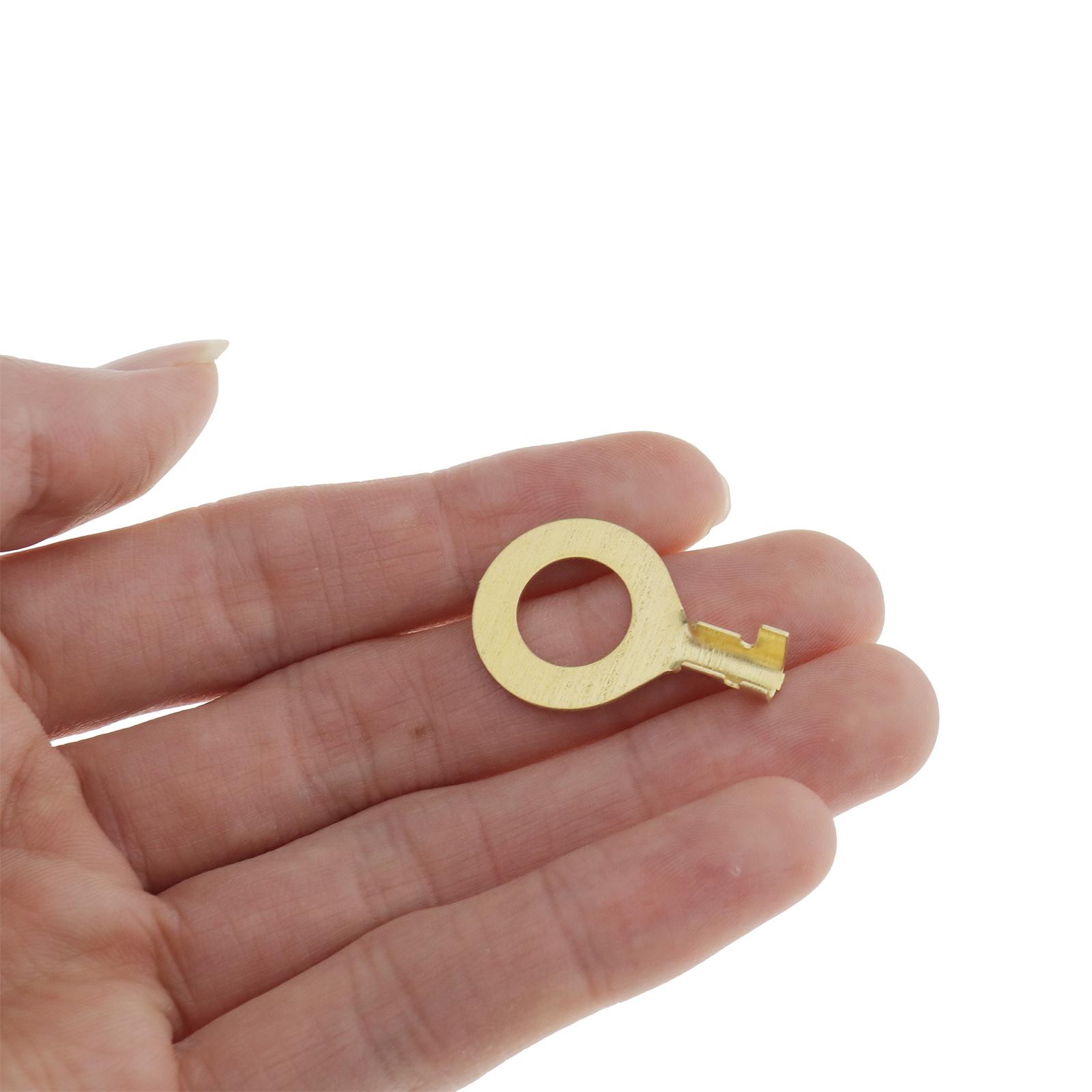 150Pcs-cable-en-laiton-a-anneau-en-cuivre-oeil-Assortiment-Ensemble-6-Taille miniature 6