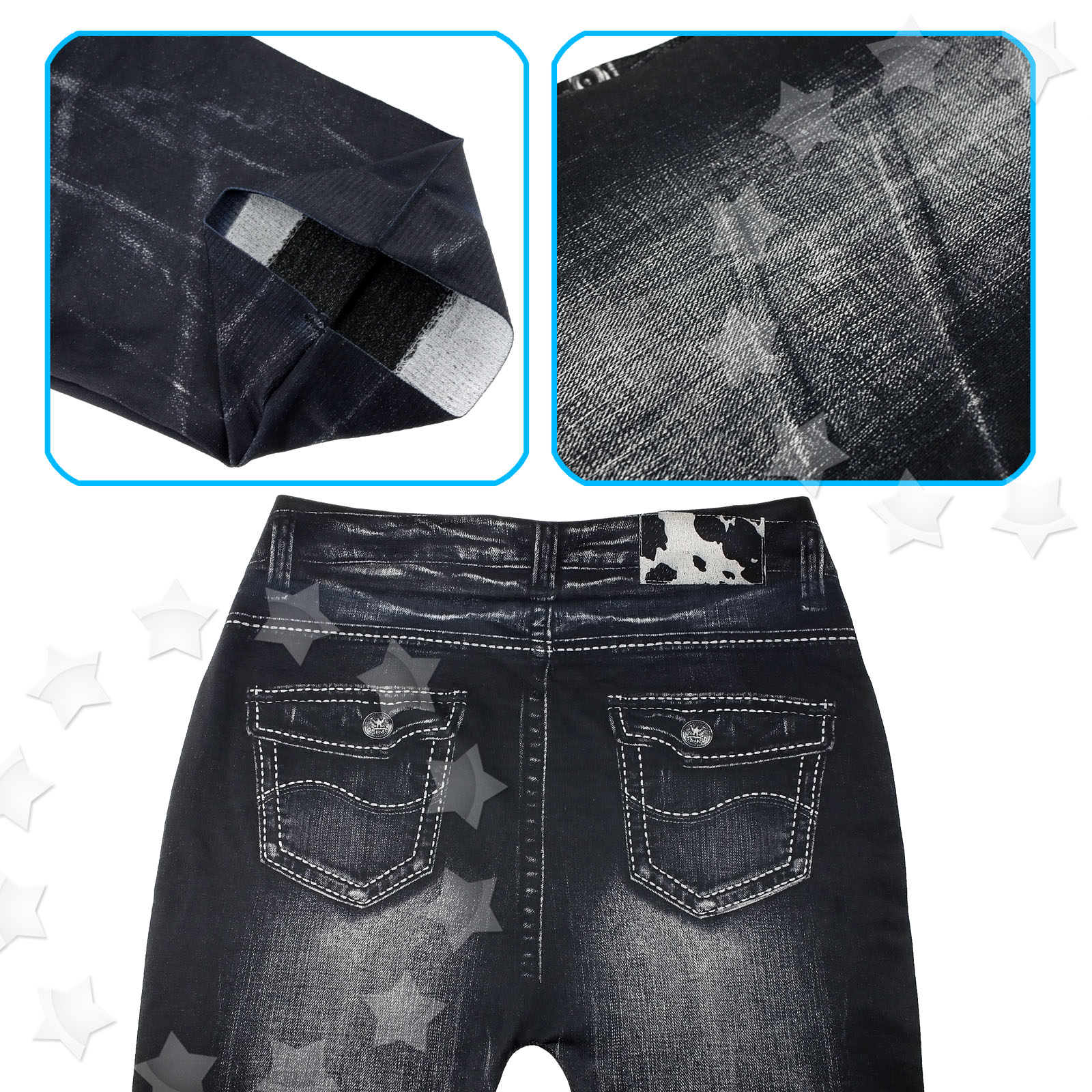lunghi Moda Denim Pantalone Pantaloni Pantaloni sexy skinny Mm Donna Jeans elasticizzati UxqfwdnzS