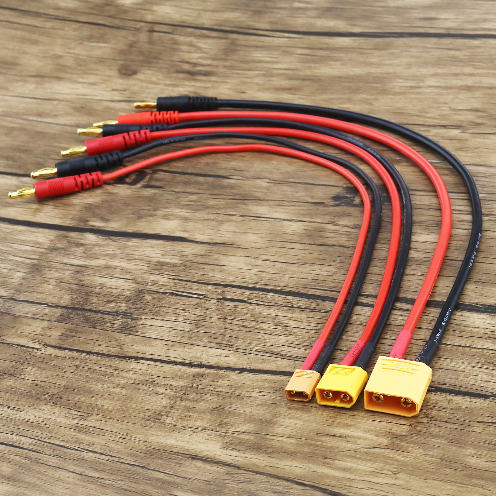 XT60 to Banana Plug 4mm Battery LIPO Charger Cable Lead Pigtail US Seller S!US