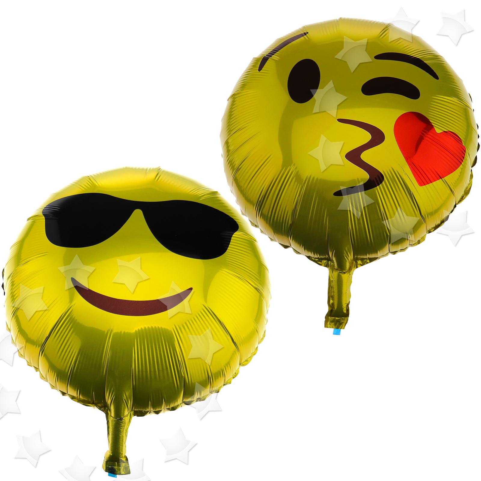 Emoji Round Shaped Face Balloon