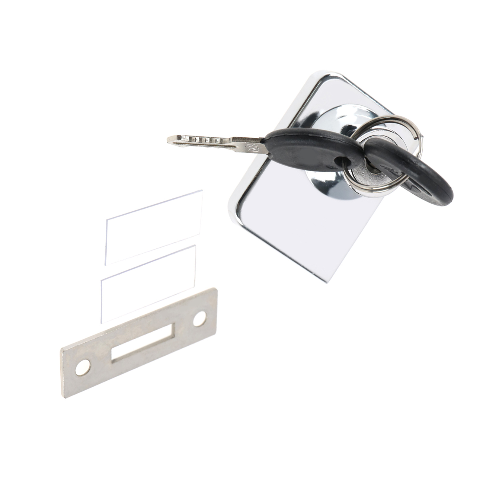 Chrome Glass Cabinet Lock For Ikea Detolf Argos Hinged Glass Display