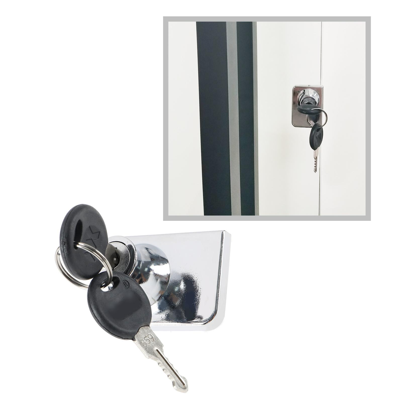 Glass Cabinet Lock for IKEA Detolf Argos Display Model Display ...