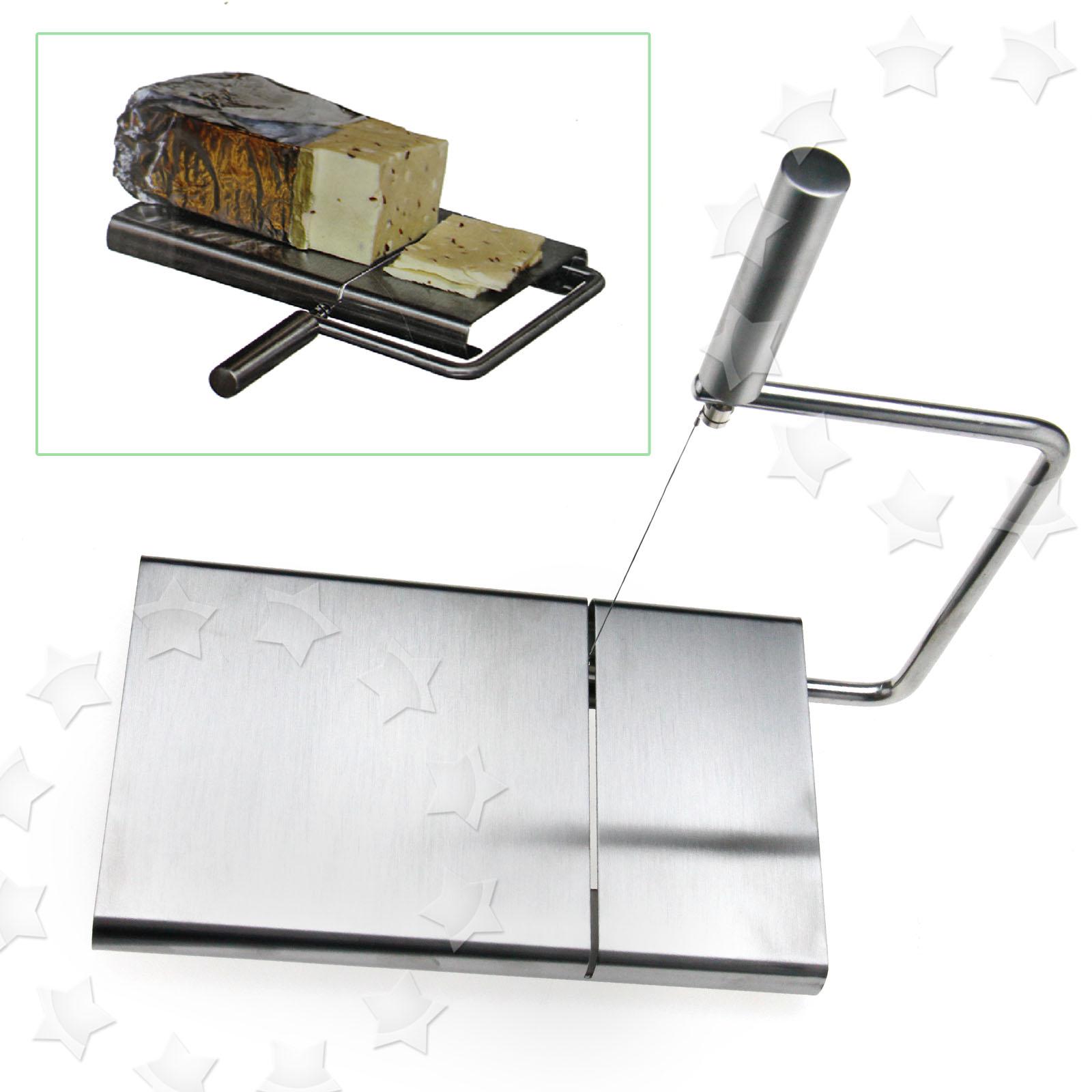 Stainless Steel Wire Cheese Slicer Cutter Board Cutting Kitchen Hand ...