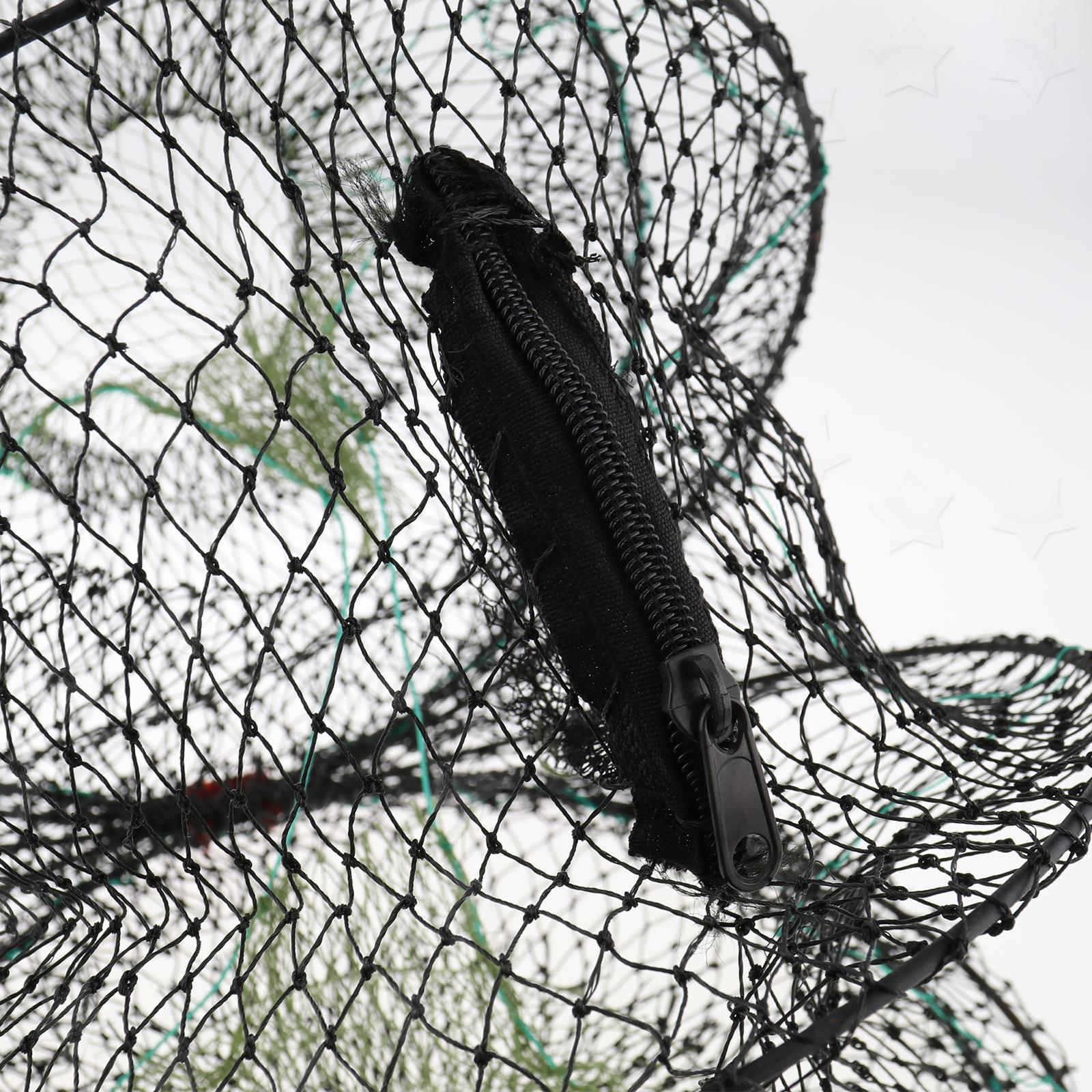 2x 60CM Fischkrabbe KÖDERFISCH REUSE∅30CM KÖDERFISCHREUSE Fishing Trap