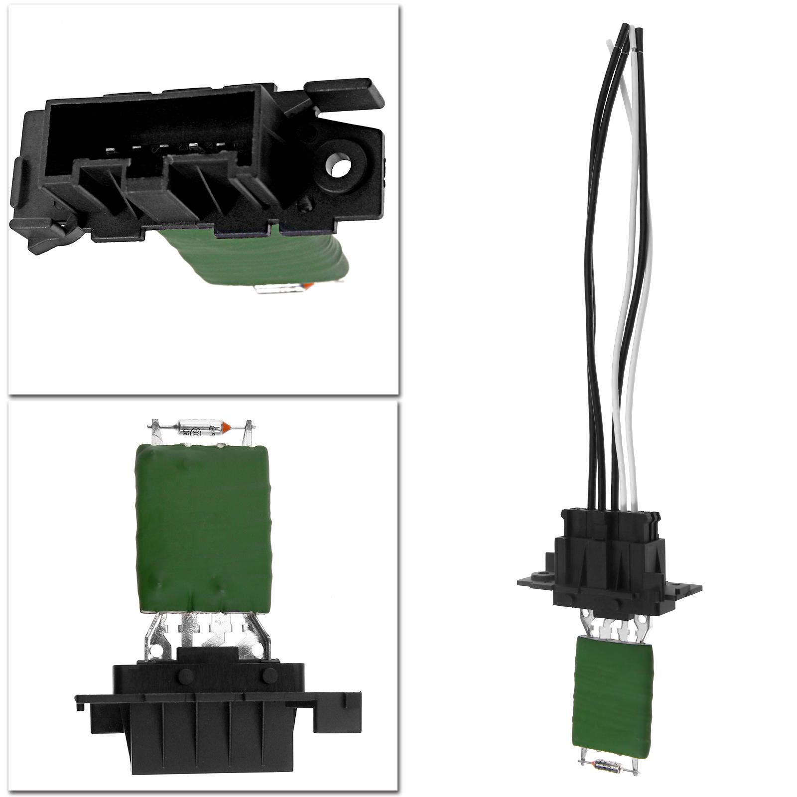For Fiat Grande Punto Heater Blower Motor Fan Resistor Wiring Loom Harness Set