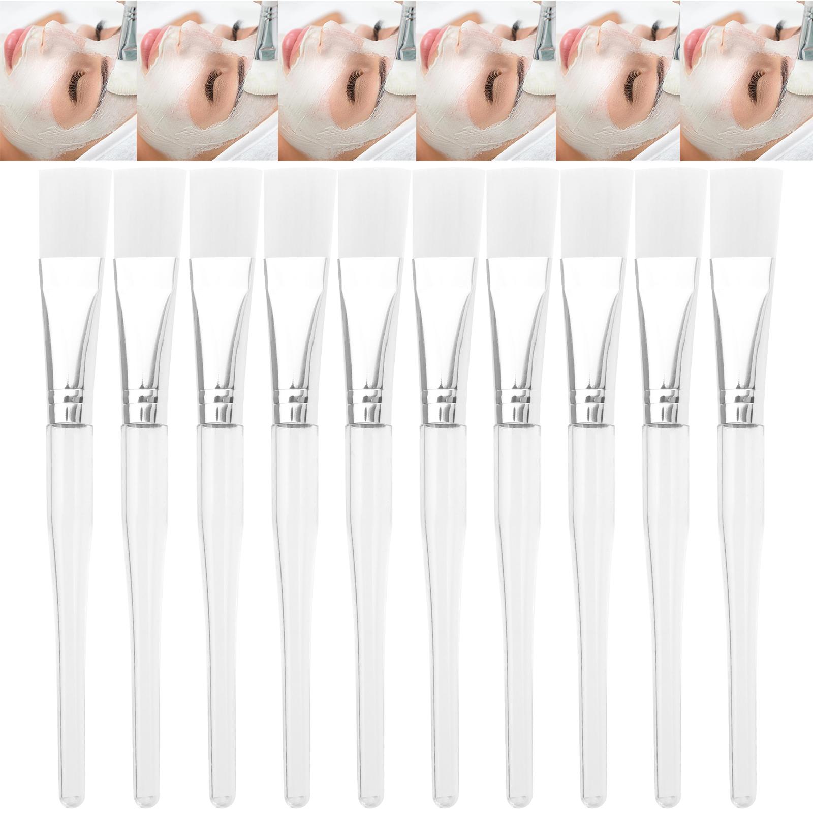10Pcs Soft Facial Face Mask Mud Mixing Brush Skin Care Beauty Makeup DIY Tool 1