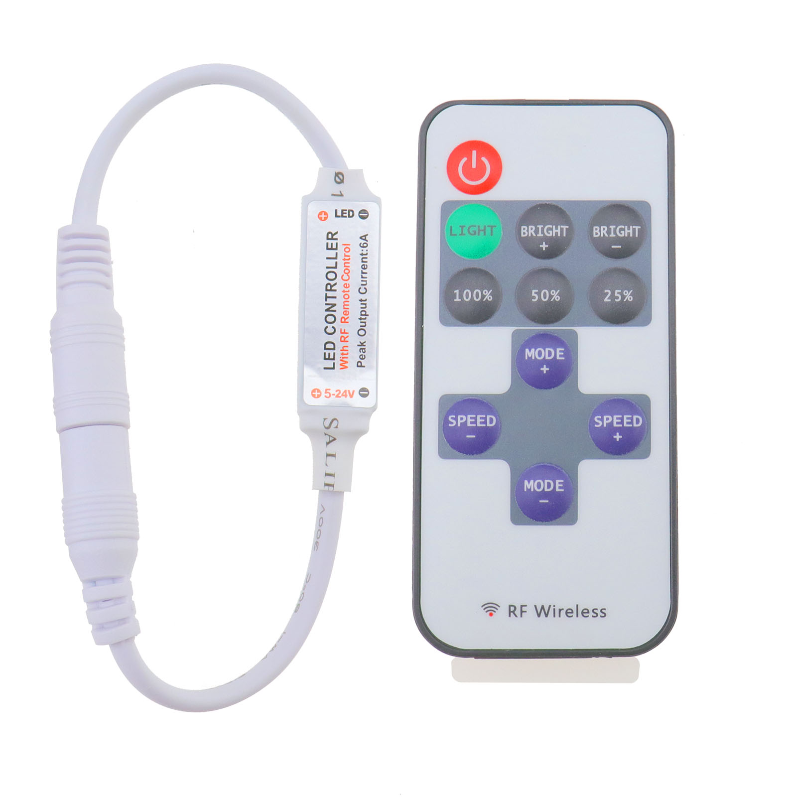 rf vhome switch shape for launcher black touch light wireless control pin remote