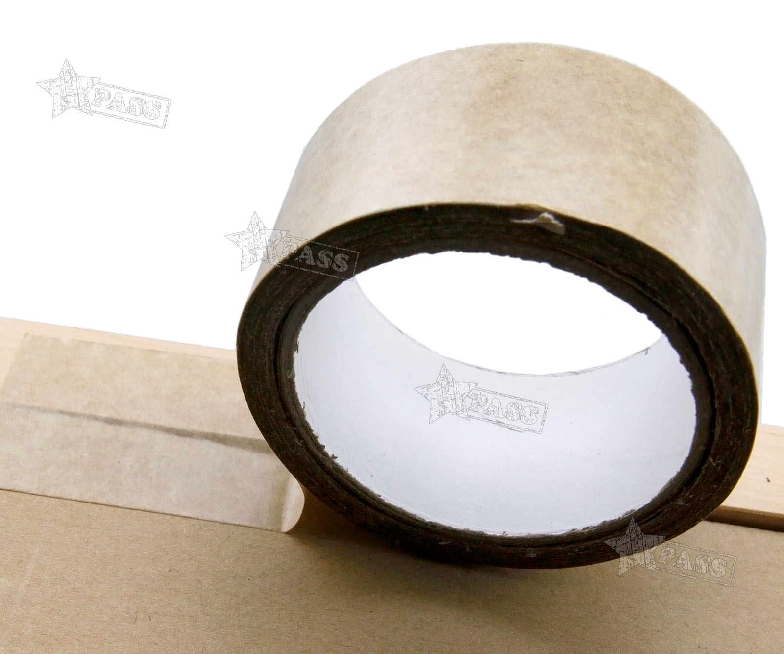 50m Length 50mm Width Picture Framing Backing Tape Brown Self ...