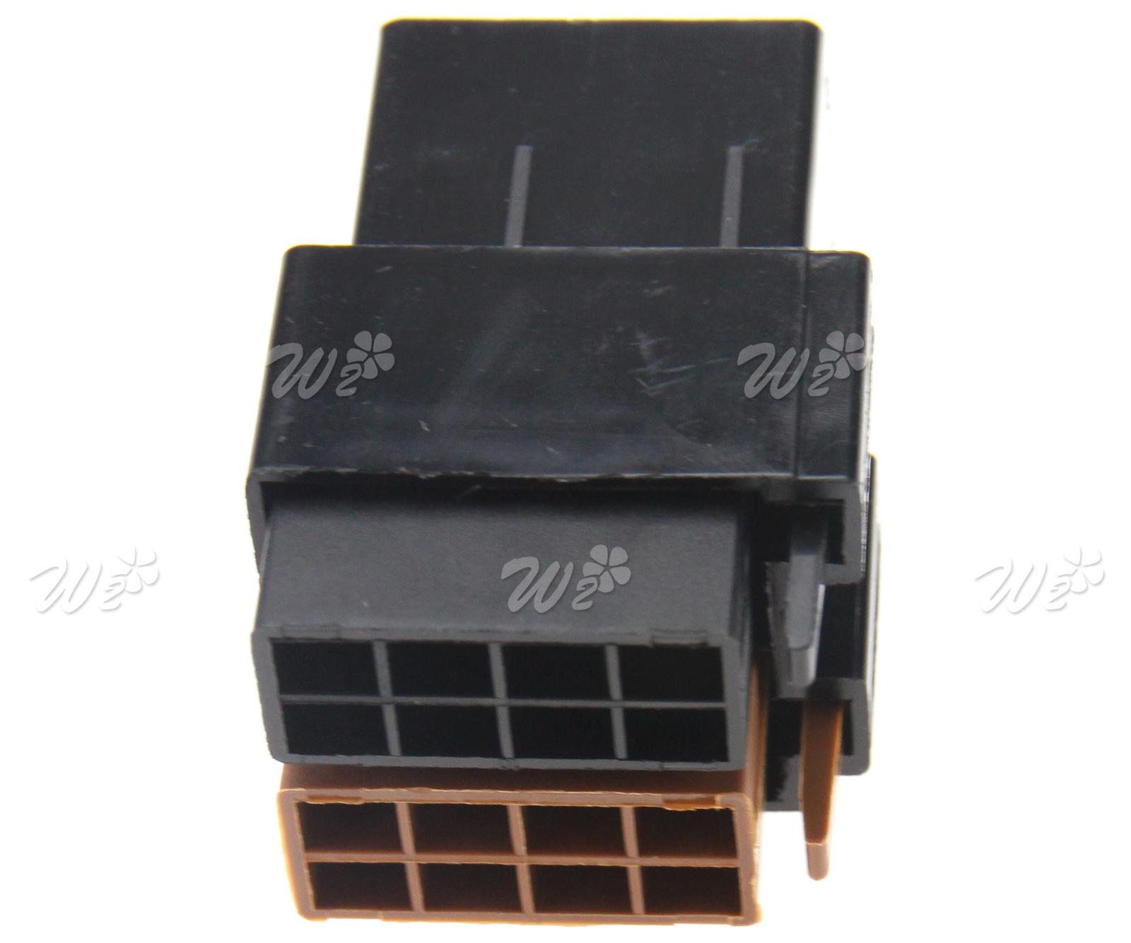 high quality 16 pin iso car audio female terminal connector block kit hifi  loom vehicle parts