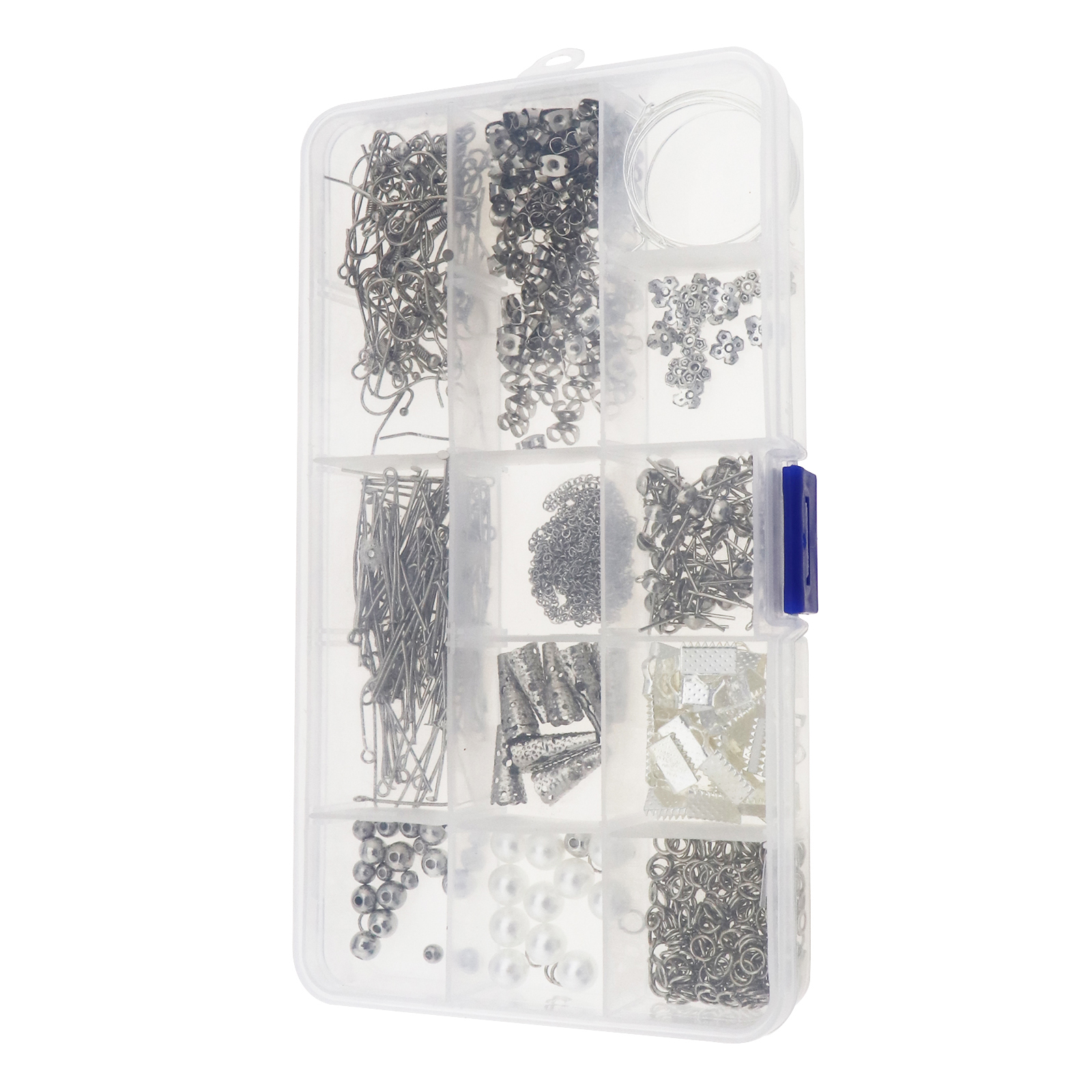 Complete DIY Earring Making Kit Ear Wires Hooks Pins Earnuts Jewelry Supplies