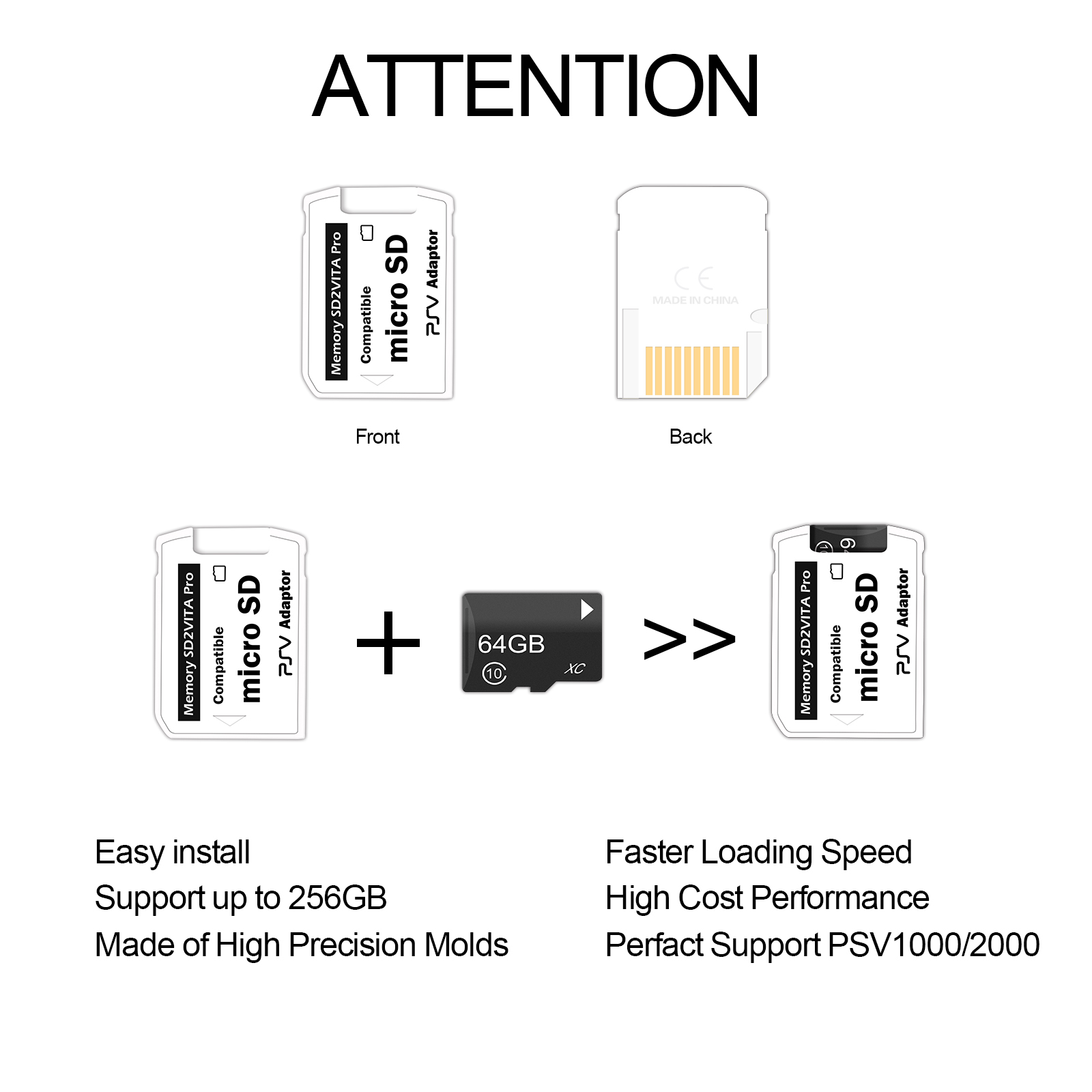 how to use micro sd card adapter