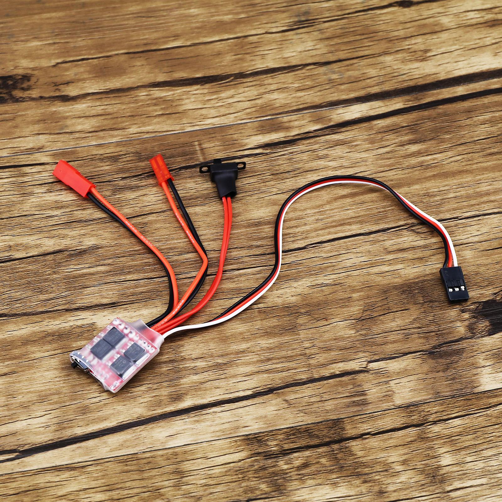 Durevole 30A Mini ESC Brush elettronico regolatore di velocità  per RC auto Contro  bellissima