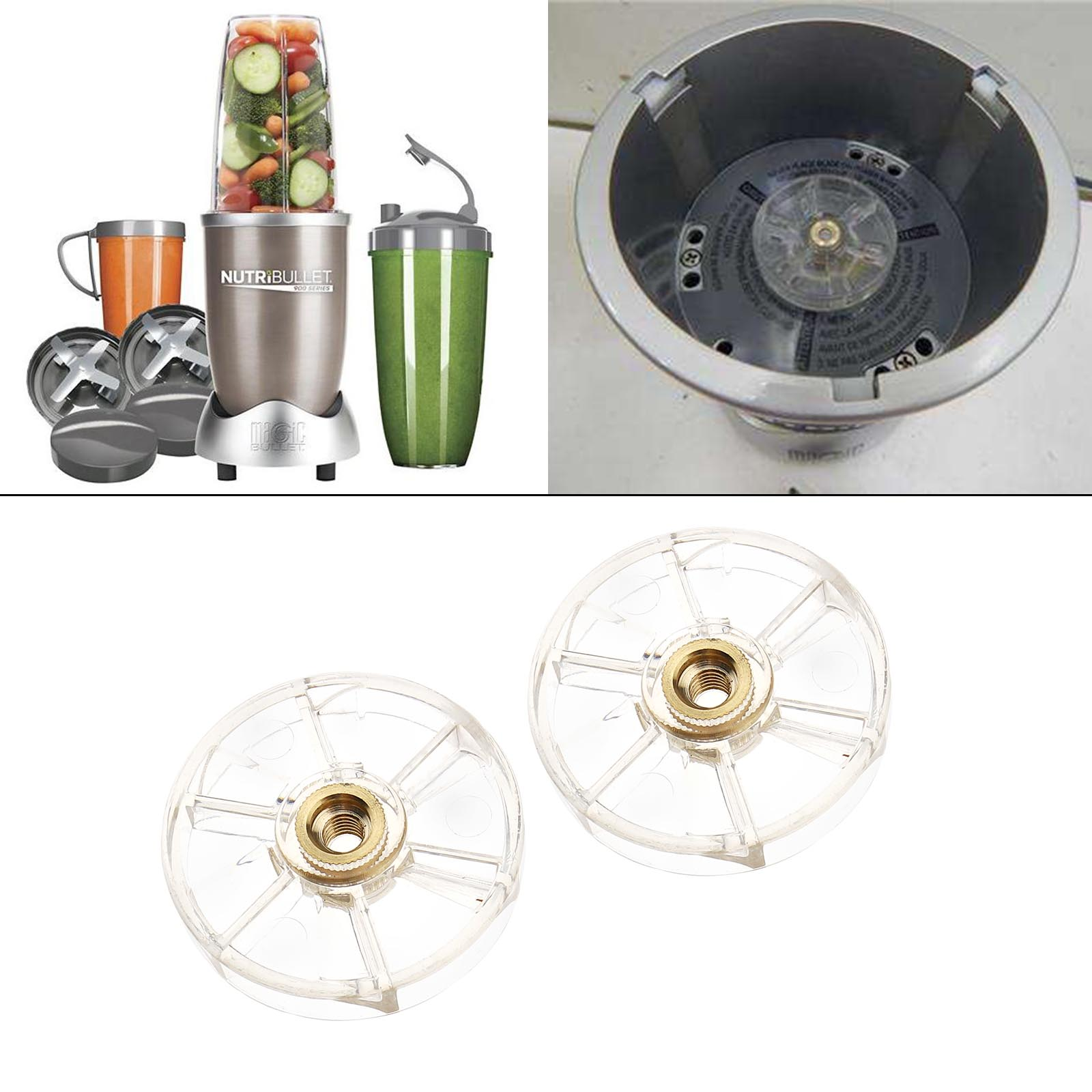 1//2 Pcs Replacement Spare Parts for Nutribullet Top Base Gear Blender 600W 900W
