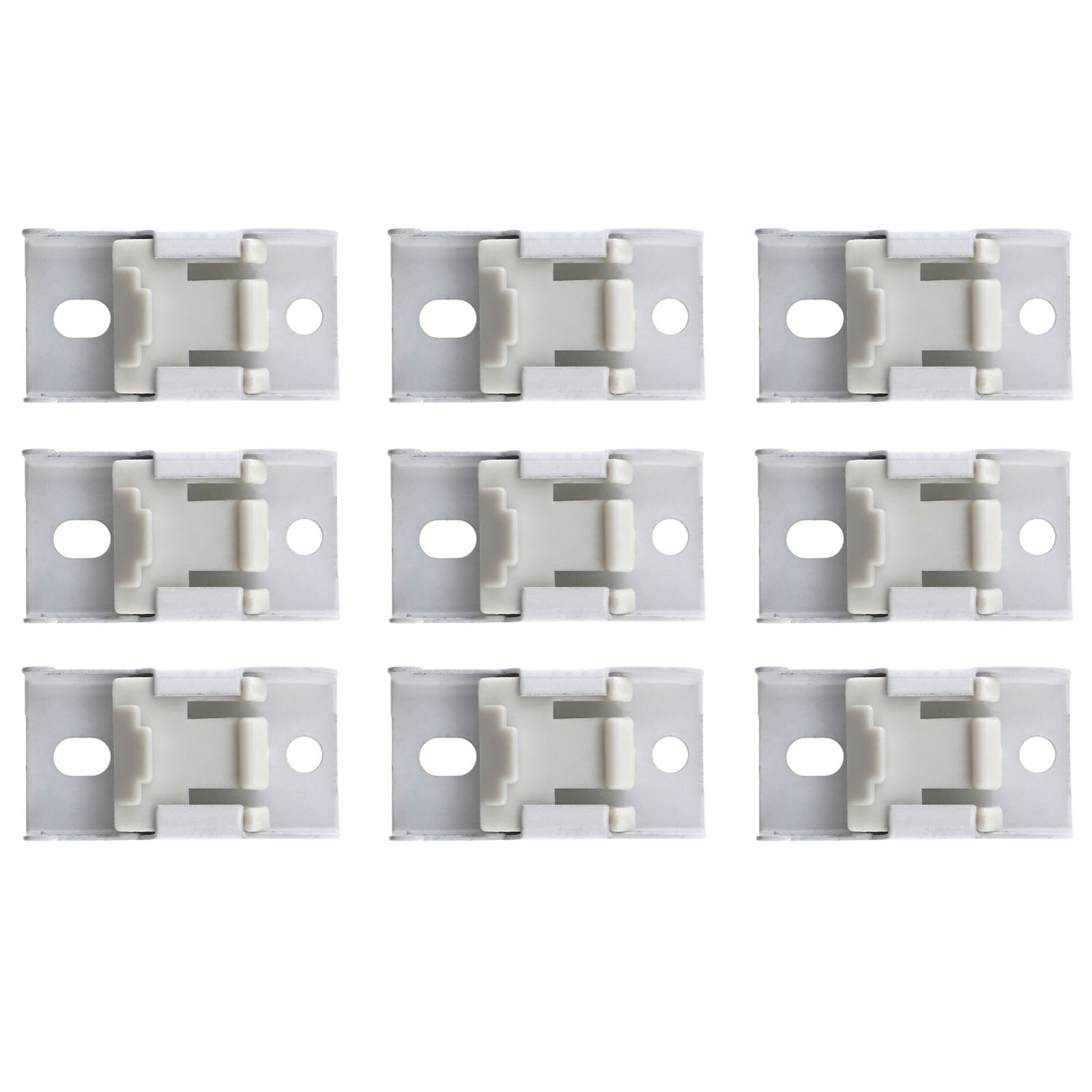 3 Meter Bendable Curtain Track Rail Fixings For Straight
