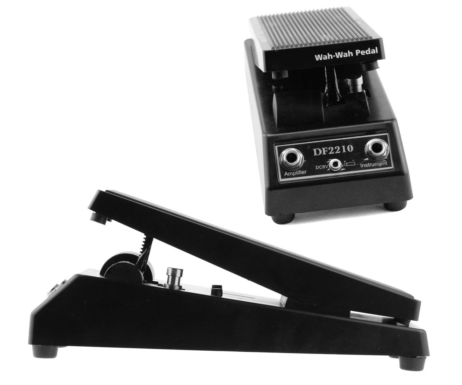 black wah wah electric guitar effect pedal musical instruments 735548255413 ebay. Black Bedroom Furniture Sets. Home Design Ideas
