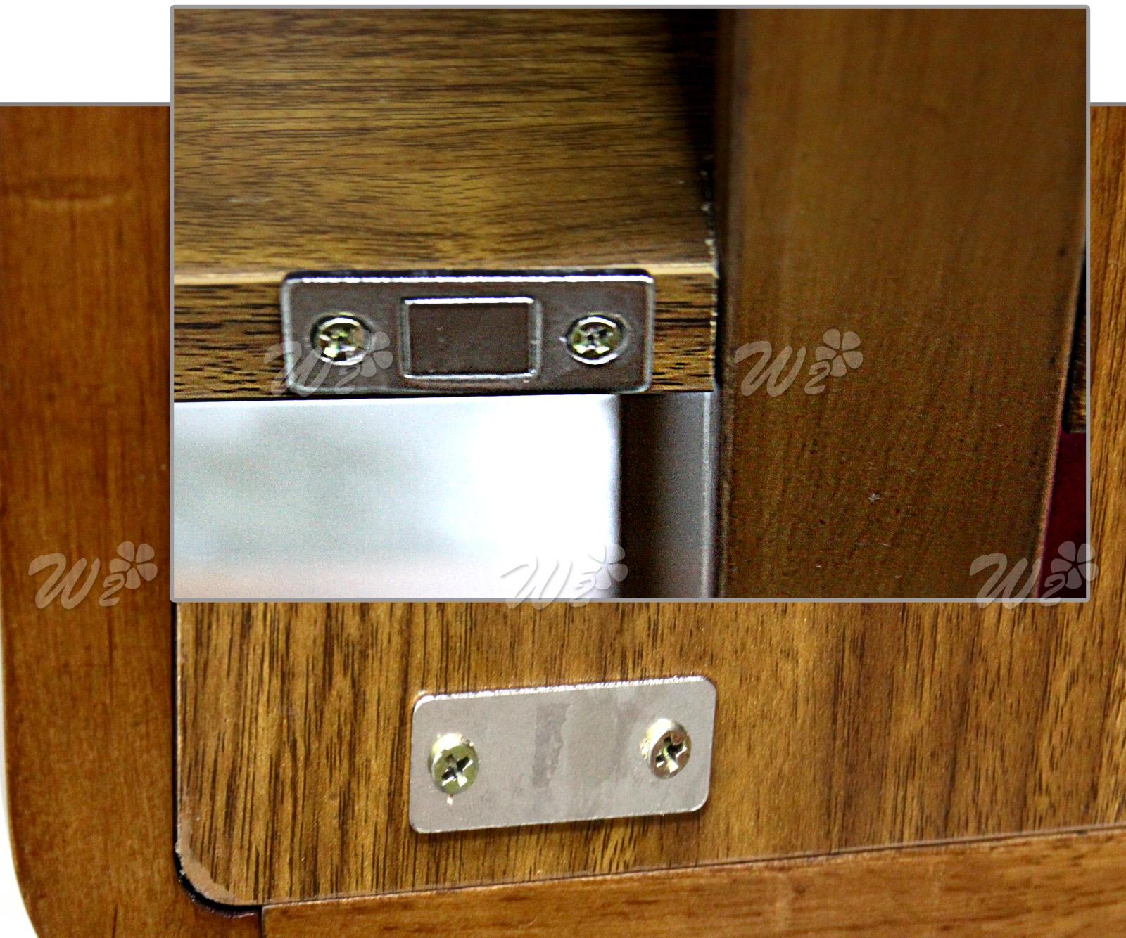 2 Steel Ultra Thin Furniture Magnetic Cabinet Cupboard Door Latch/Catch  Closures