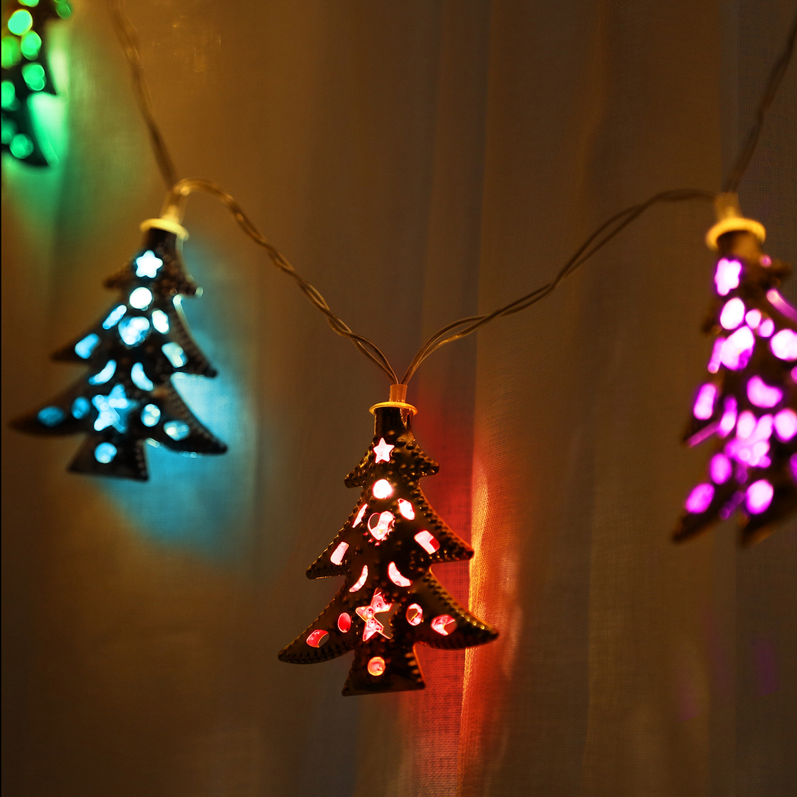 10 led 3m fairy lighting christmas party string lights christmas tree decor lamp