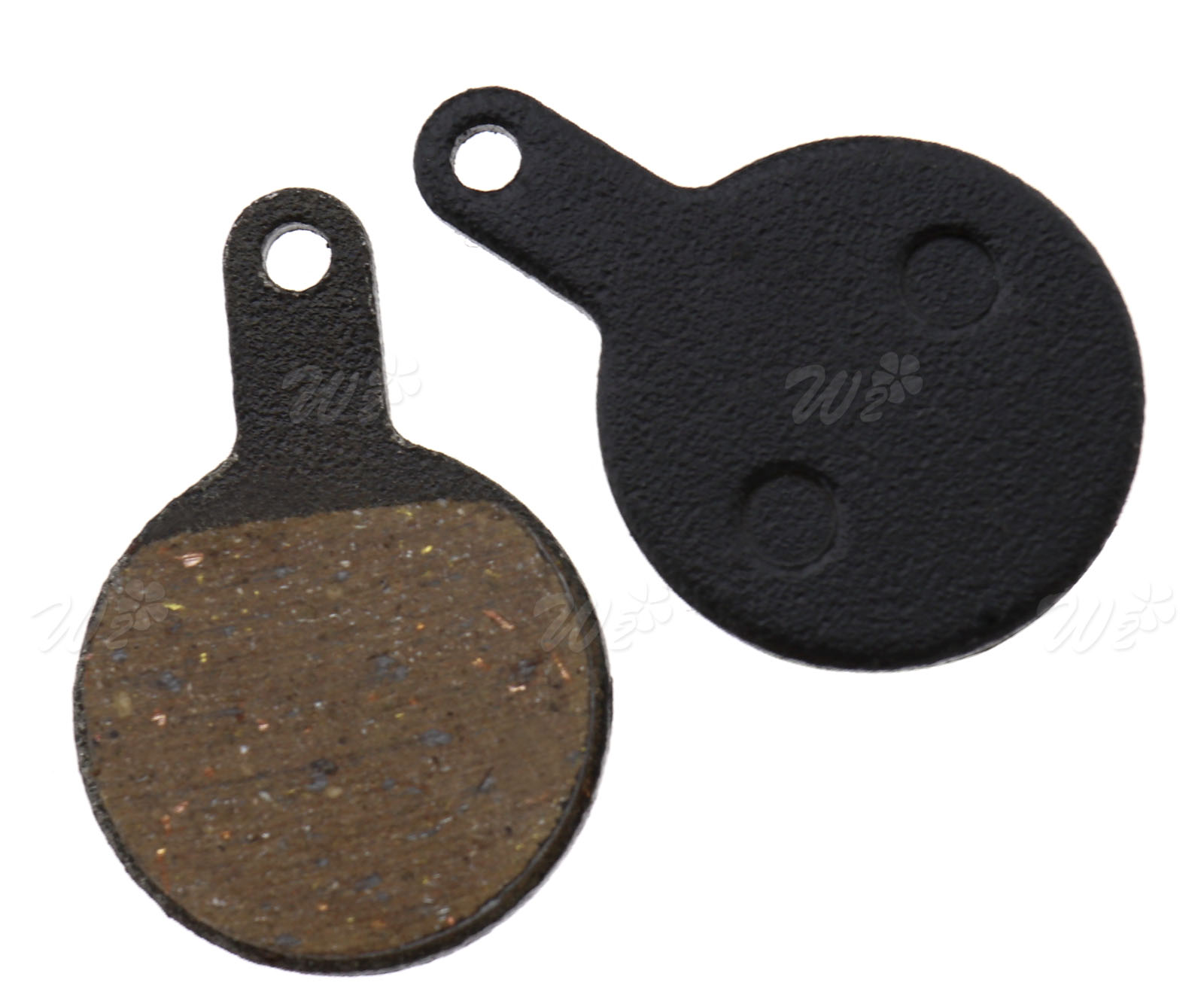 2Pairs Resin MTB Disc Brake Pads for Tektro Lyra Novela Iox Bike Disc Brake #ORP
