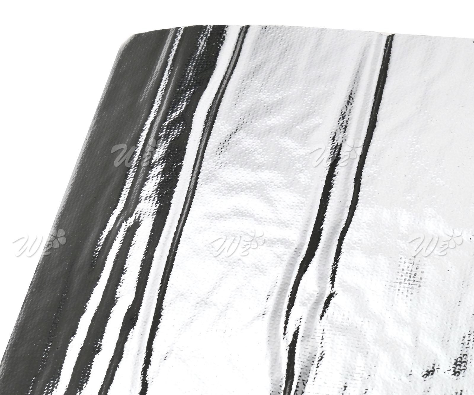 6pcs Heat Shield Mat Car Turbo Insulation Muffler Hood Fiberglass Cotton