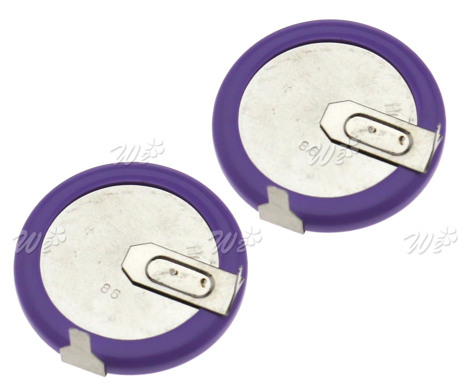 2Pcs ML2020 Mini Battery Replacement For BMW E46 E60 E90 Remote Key